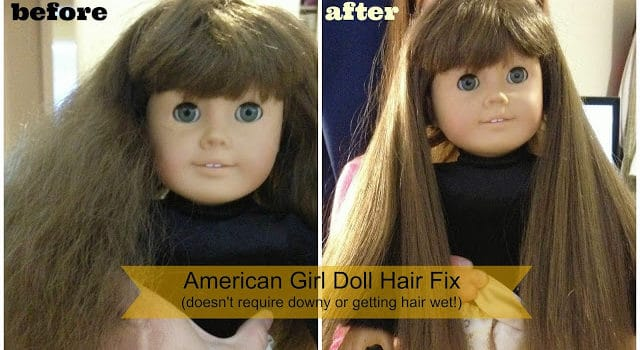 How to Fix American Girl Doll Hair Tutorial