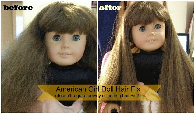 How to Fix American Girl Doll Hair | www.housewivesofriverton.com