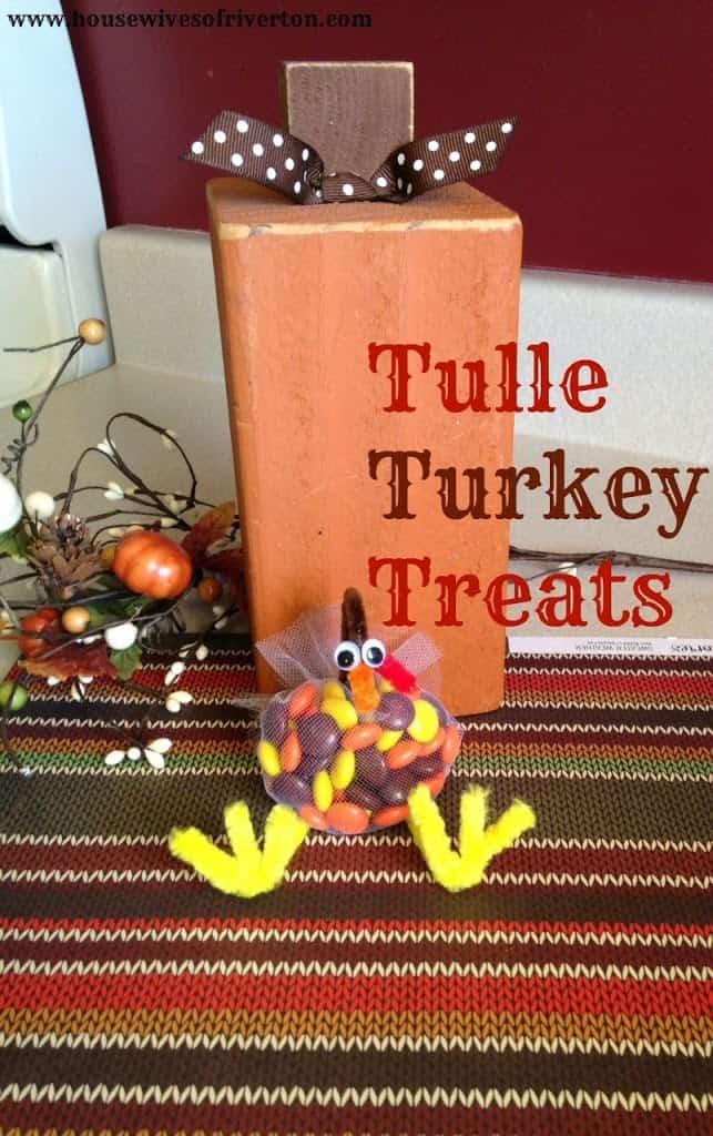 Tulle Turkey Treats