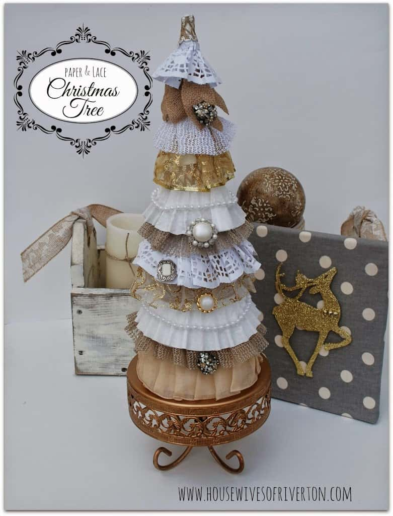 Paper & Lace Christmas Tree