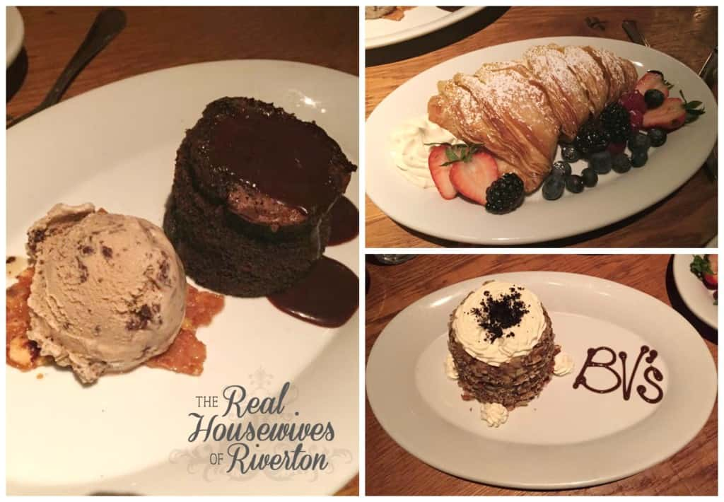 Buddy V's Dessert
