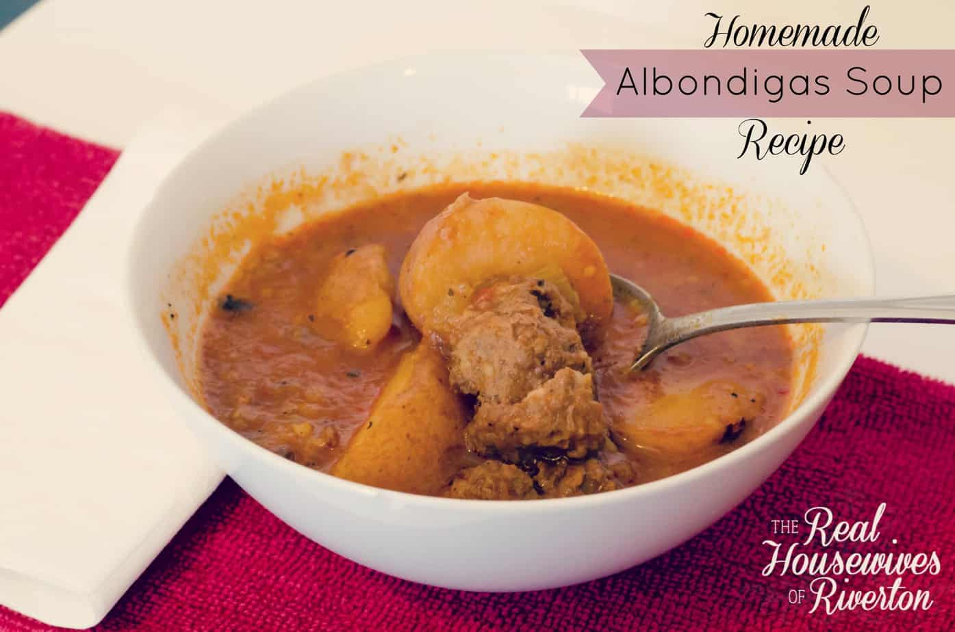 Homemade Albondigas Soup Recipe