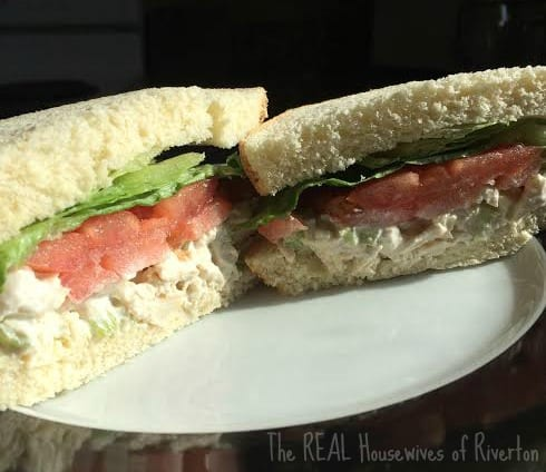 Chicken Salad Sandwiches from The REAL Housewives of Riverton are super easy to put together and taste delicious! | www.housewivesofriverton.com