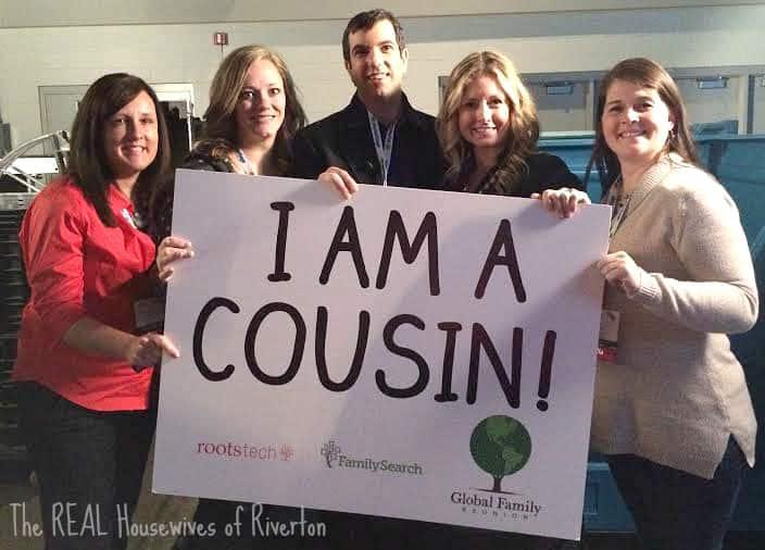 I Am A Cousin, AJ Jacobs, RootsTech 2015