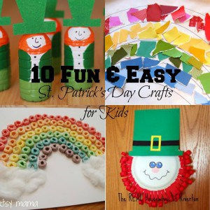10 Fun & Easy St. Patrick's Day Crafts for Kids