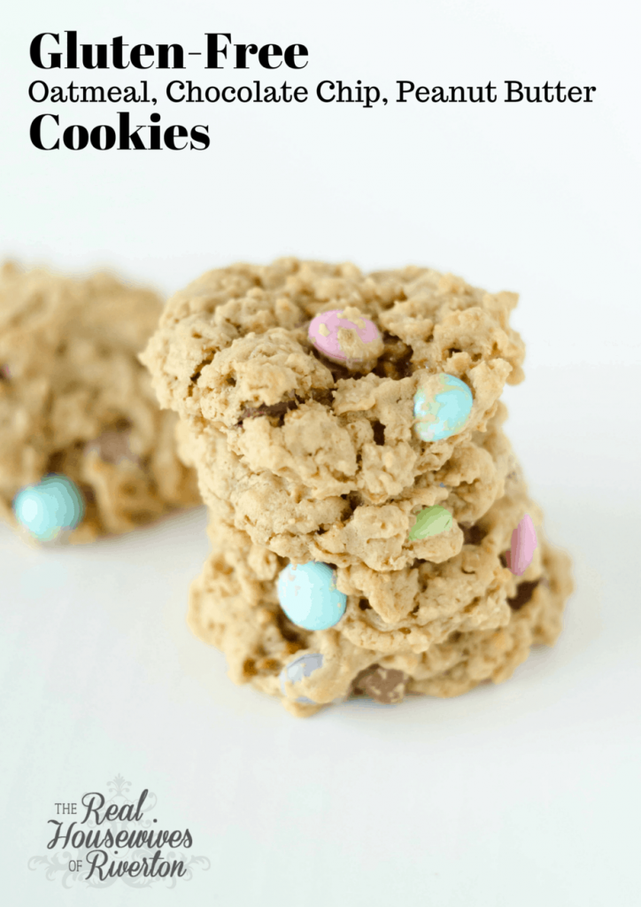 Gluten-Free Oatmeal Chocolate Chip Cookies Recipe — Dishmaps