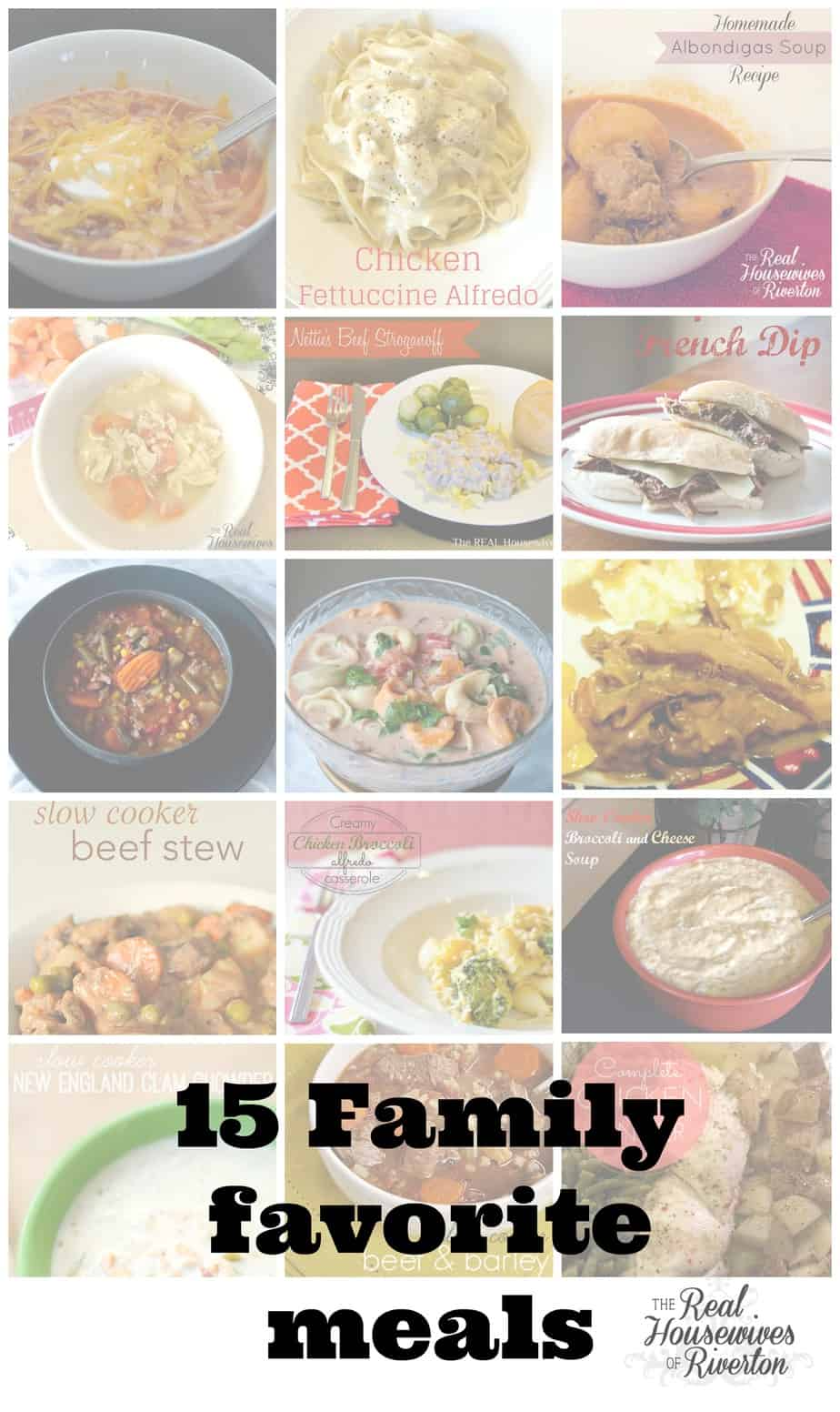 15 Quick and Easy Meals for busy families
