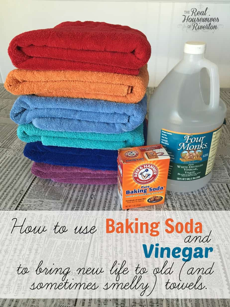 Use Baking Soda And Vinegar To Bring New Life To Old And