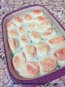 Chicken Pot Pie Casserole from The Housewives of Riverton | www.housewivesofriverton.com