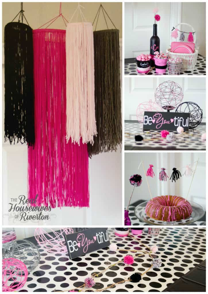Party with Yarn Collage