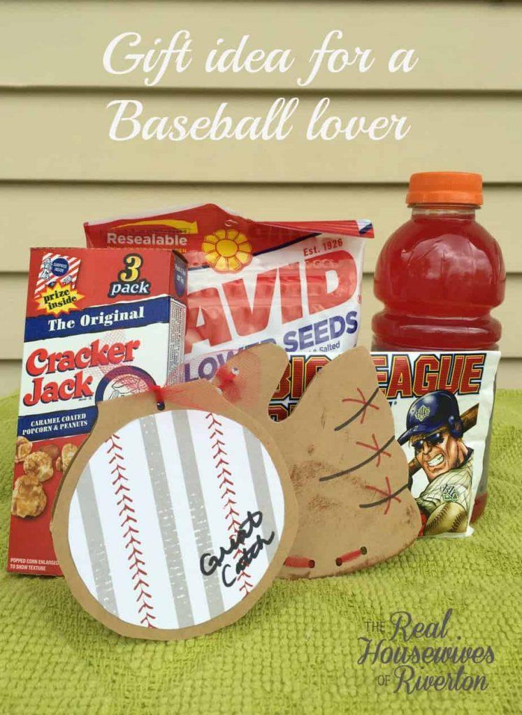 baseball lover gift idea