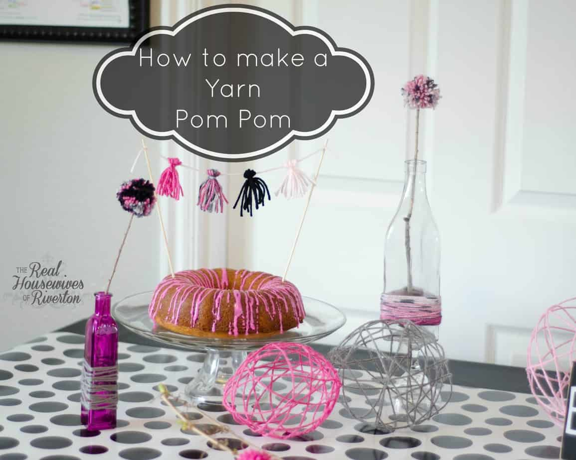 Yarn Pom Pom tutorial – Yarn Party Part 2