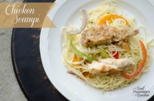 Chicken Scampi