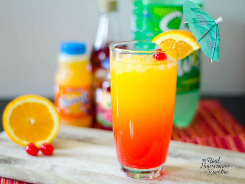 SunnyD Sunrise Drink | www.housewivesofriverton.com