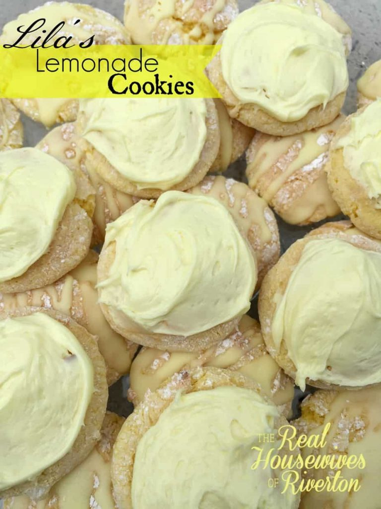 Lila's Lemonade Cookies - housewivesofriverton.com