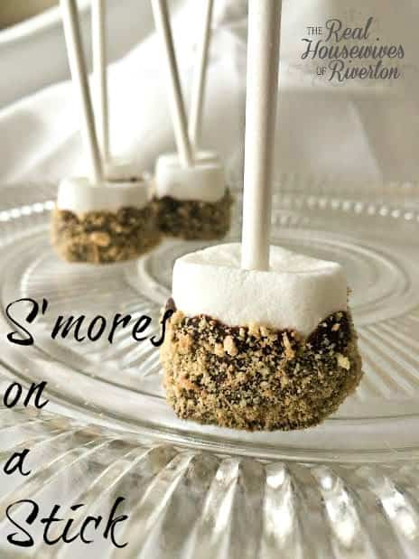 S'mores on a Stick – Summer S'mores Series