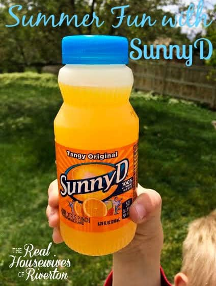 Summer Fun with SunnyD from The Housewives of Riverton | www.housewivesofriverton.com