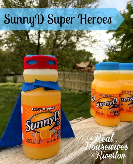 SunnyD Super Heroes from The Housewives of Riverton | www.housewivesofriverton.com