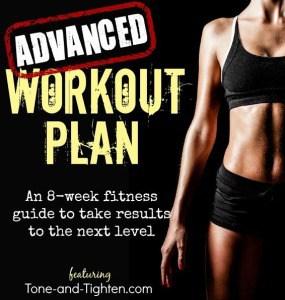 advanced workout plan image
