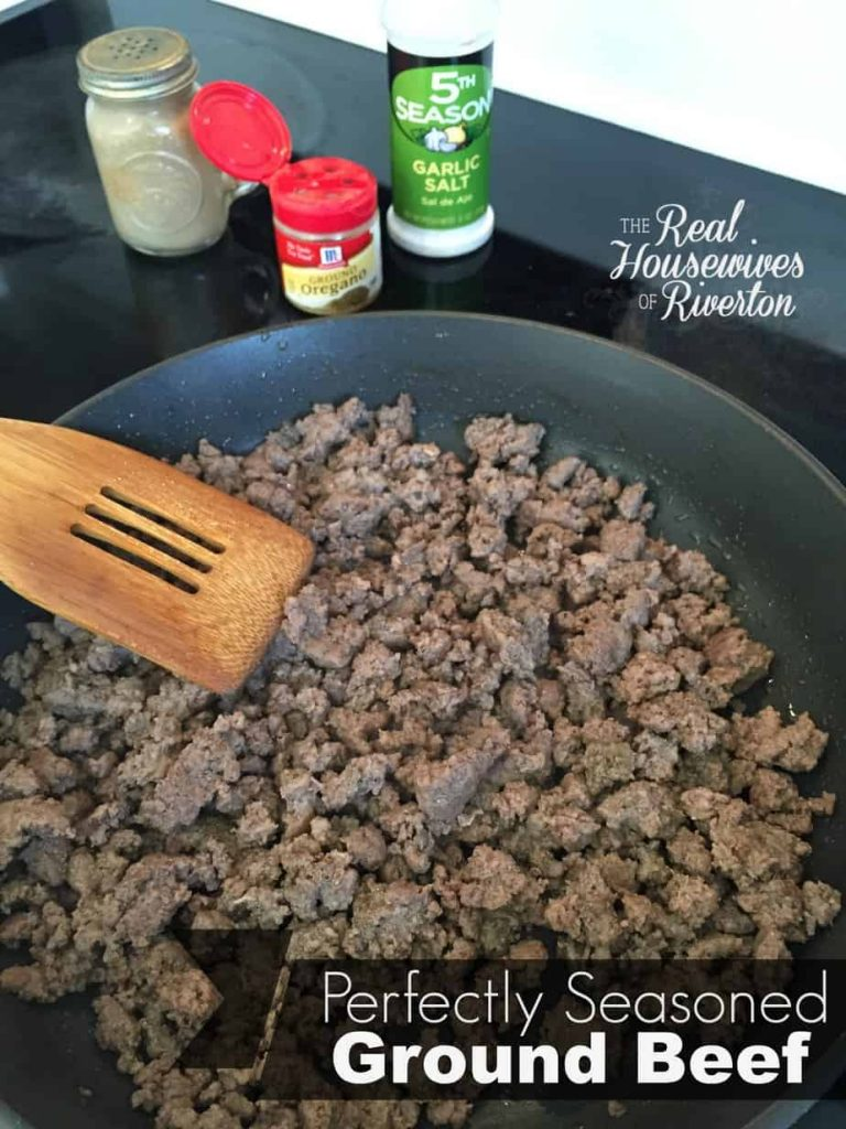 Perfectly Seasoned Ground Beef - www.housewivesofriverton.com