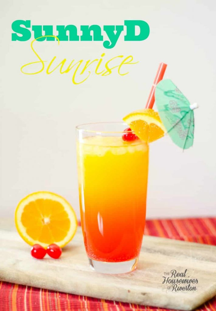 SunnyD Sunrise Drink | www.housewivesofriverton.com