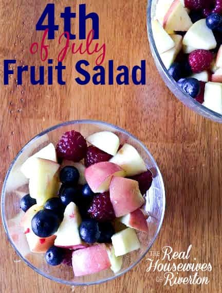4th of July Fruit Salad from The Housewives of Riverton | www.housewivesofriverton.com