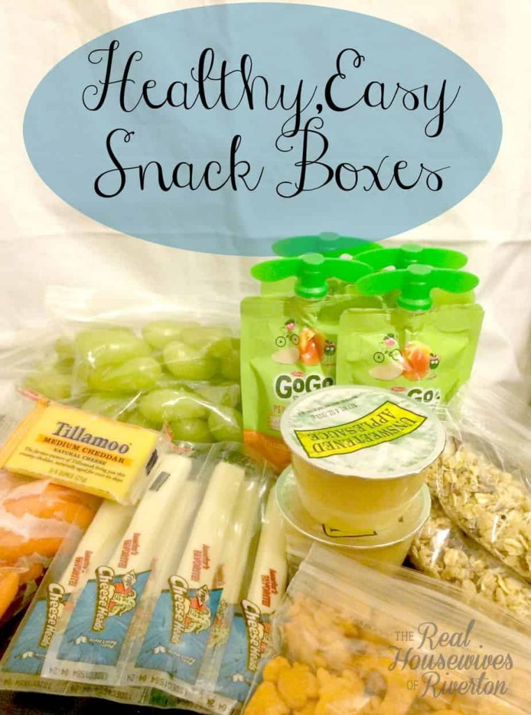 Easy Snacks for Kids – Snack Boxes