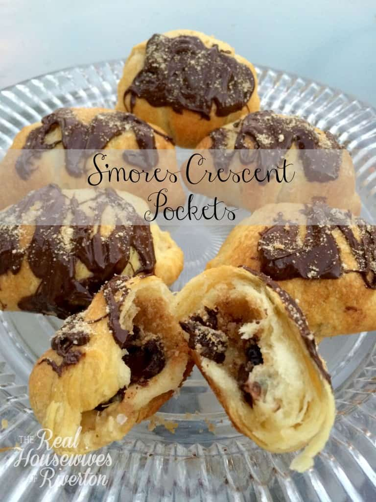 S'mores Crescent Pockets – Summer S'mores Series