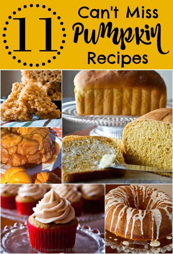 11 Can't Miss Pumpkin Recipes