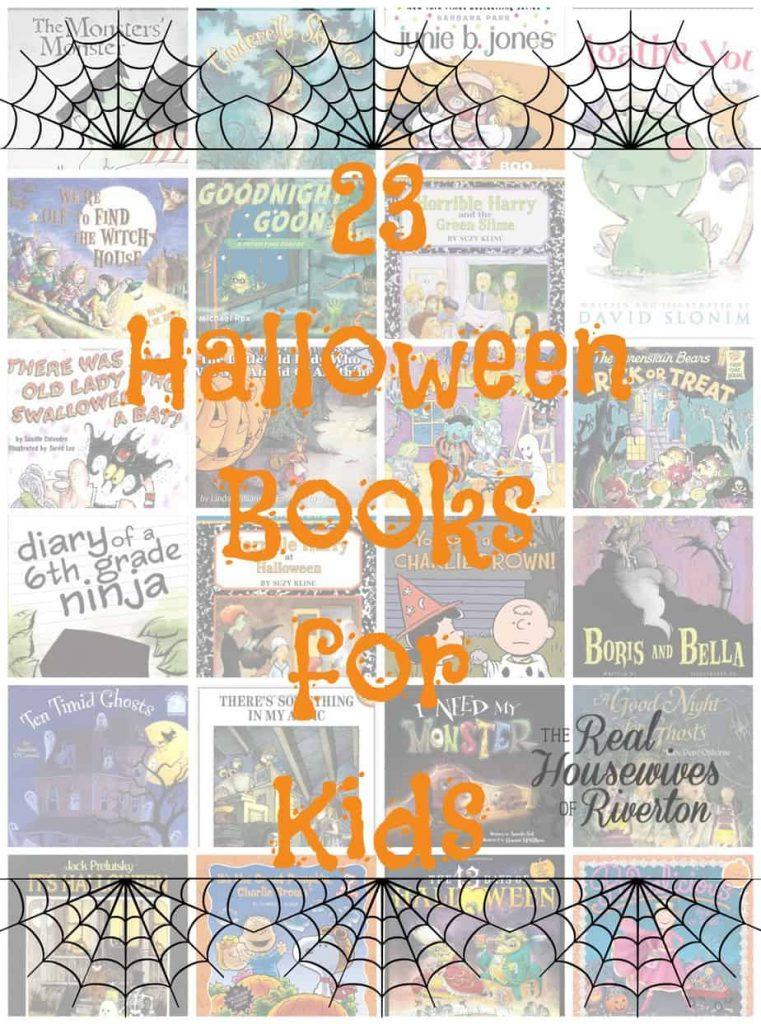 23 Halloween Books for Kids- housewivesofriverton.com