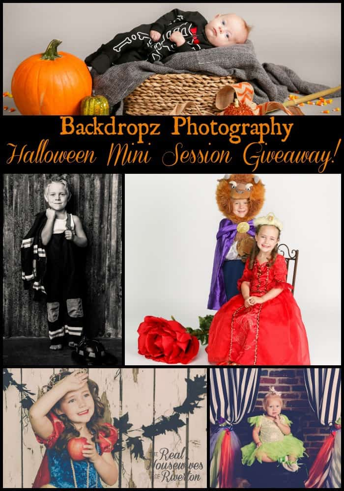 Backdropz Halloween Mini Session Giveaway | www.housewivesofriverton.com