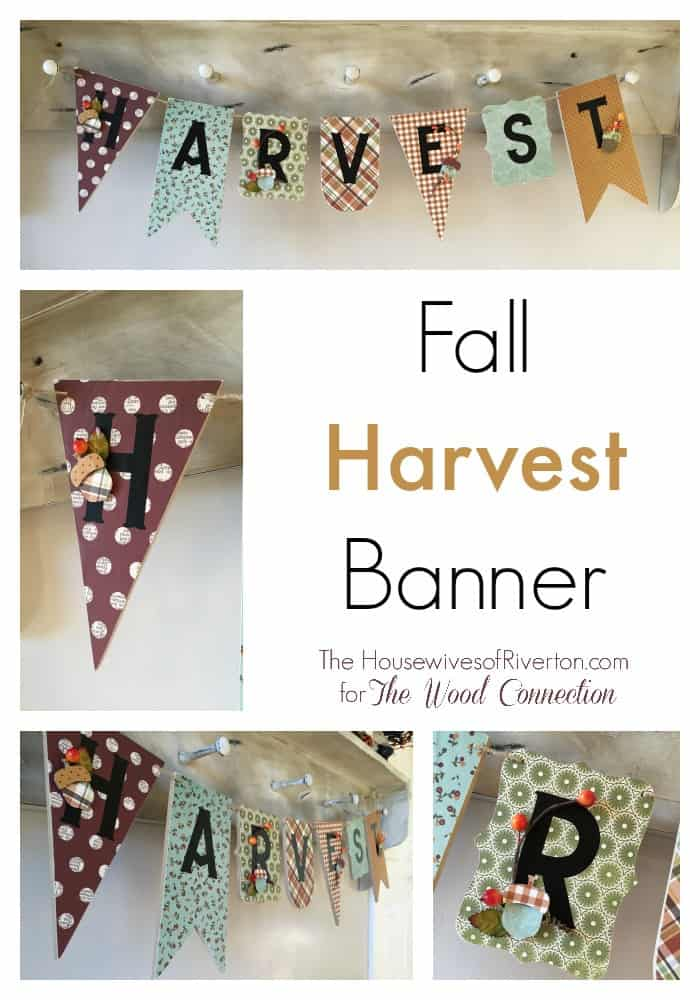 Fall Harvest Banner and Giveaway