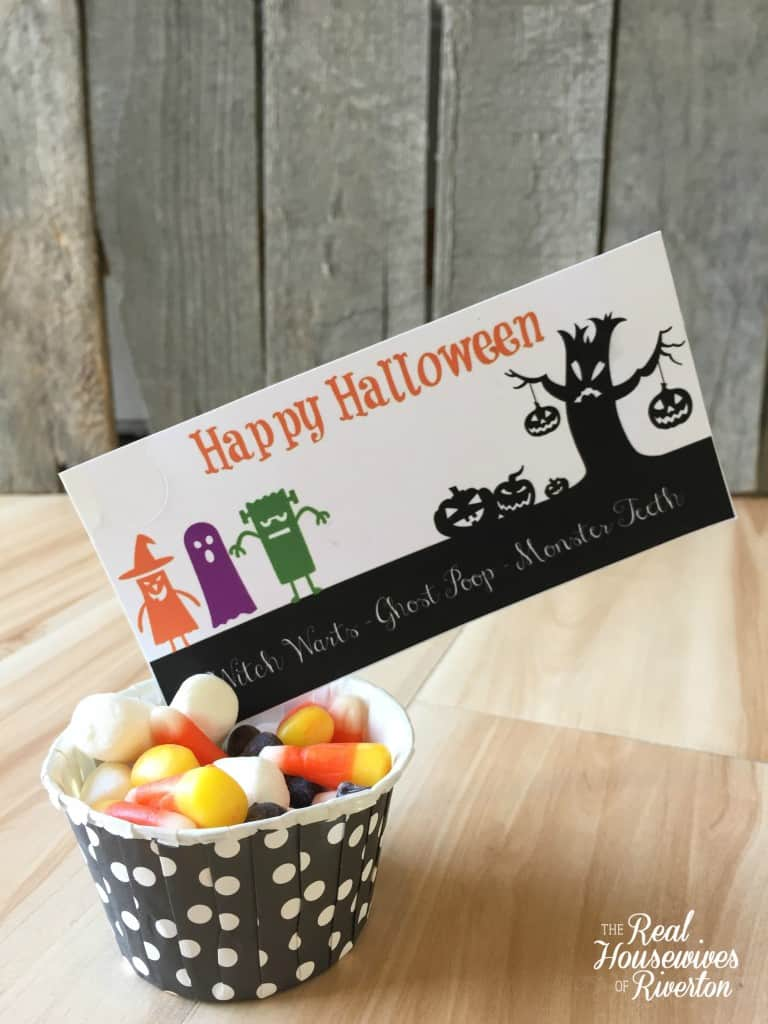 Remarkable image throughout free printable treat bag toppers