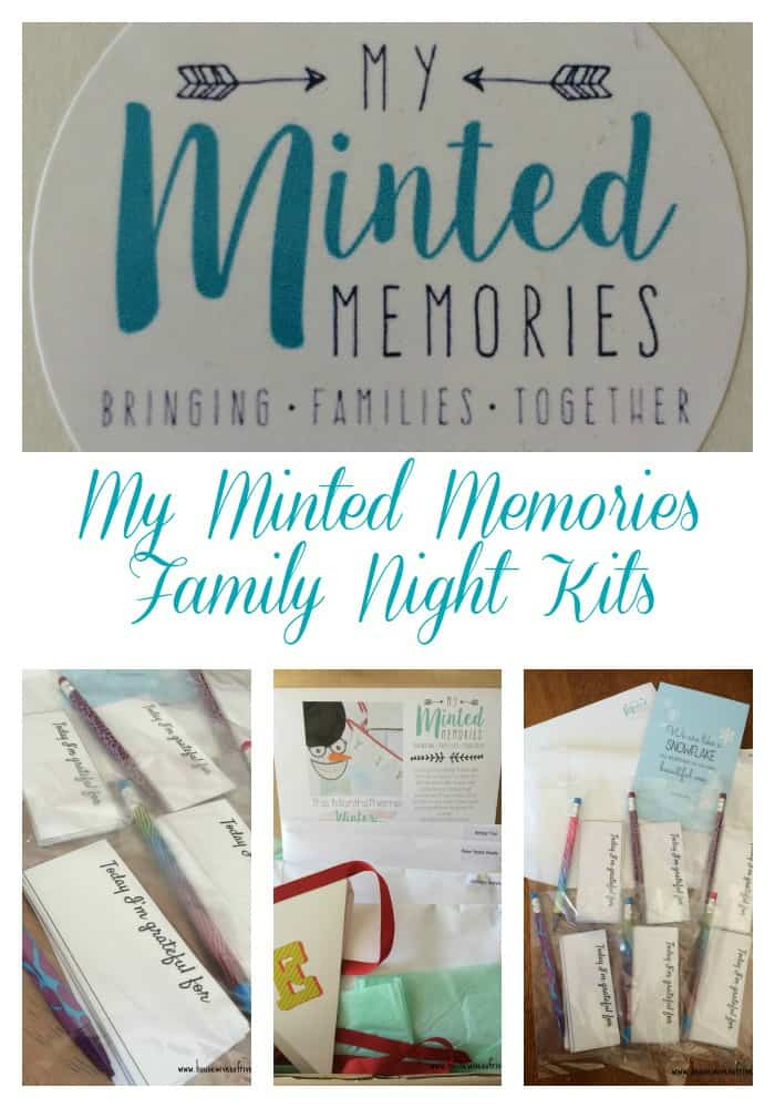 My Minted Memories Family Night Kits
