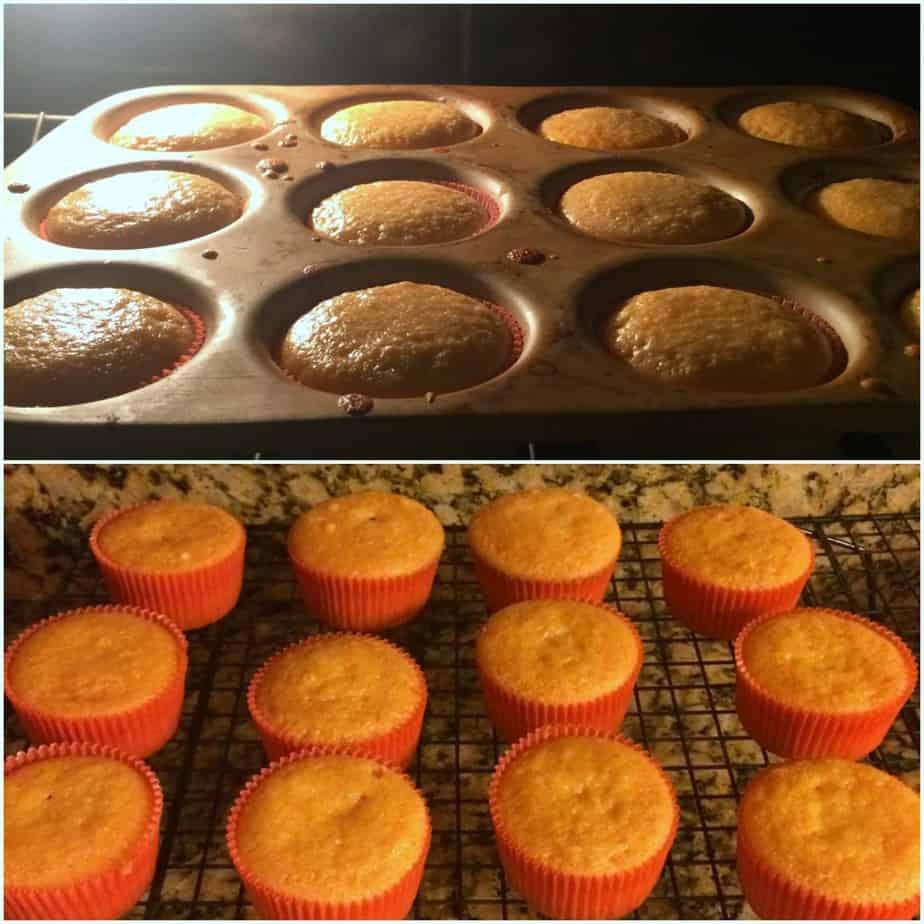 Orange Fanta Cupcakes with OREO Cookies and Cream Frosting #Ad #SpookySnacks @Walmart   www.housewivesofriverton.com