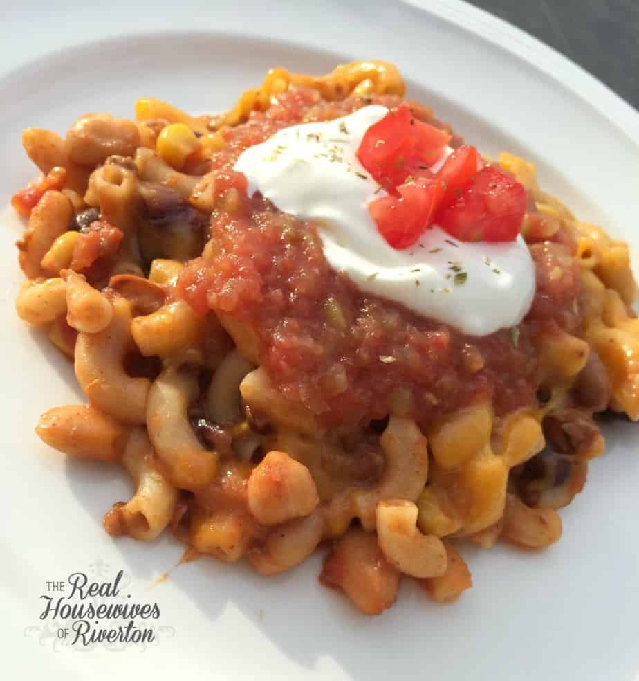 Taco Soup Casserole - Housewivesofriverton.com