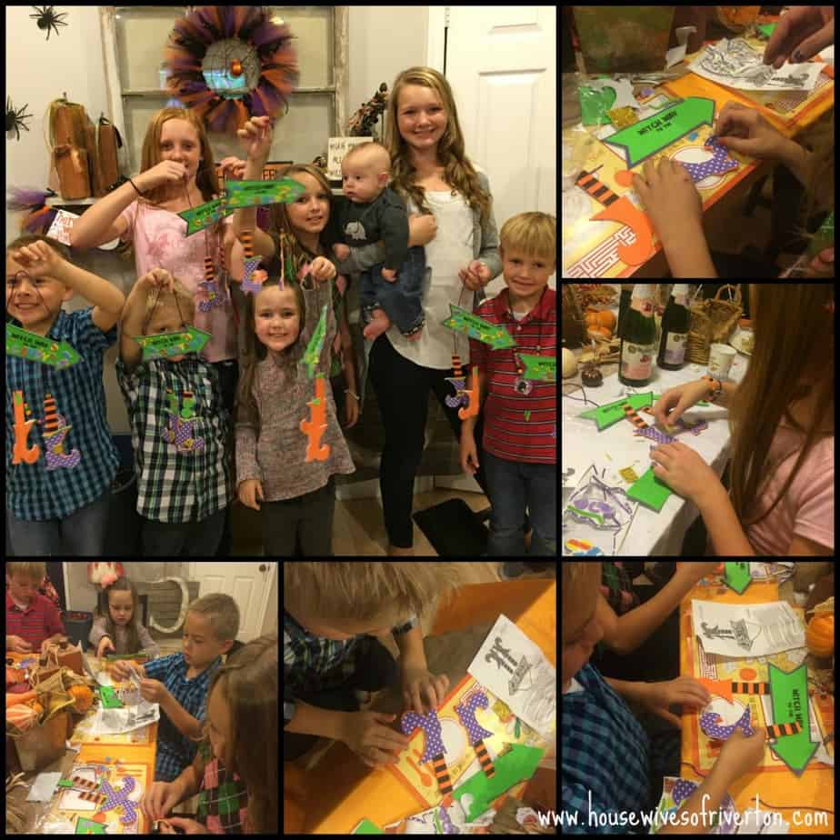 Halloween Craft Party for Kids