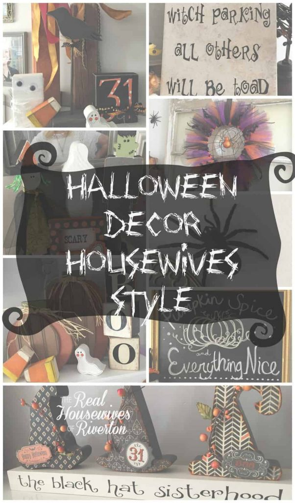 halloween decor housewives style - housewivesofriverton.com
