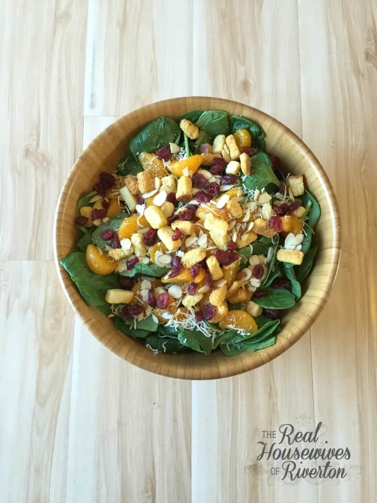 Spinach Salad with Poppy Seed Dressing - housewivesofriverton.com