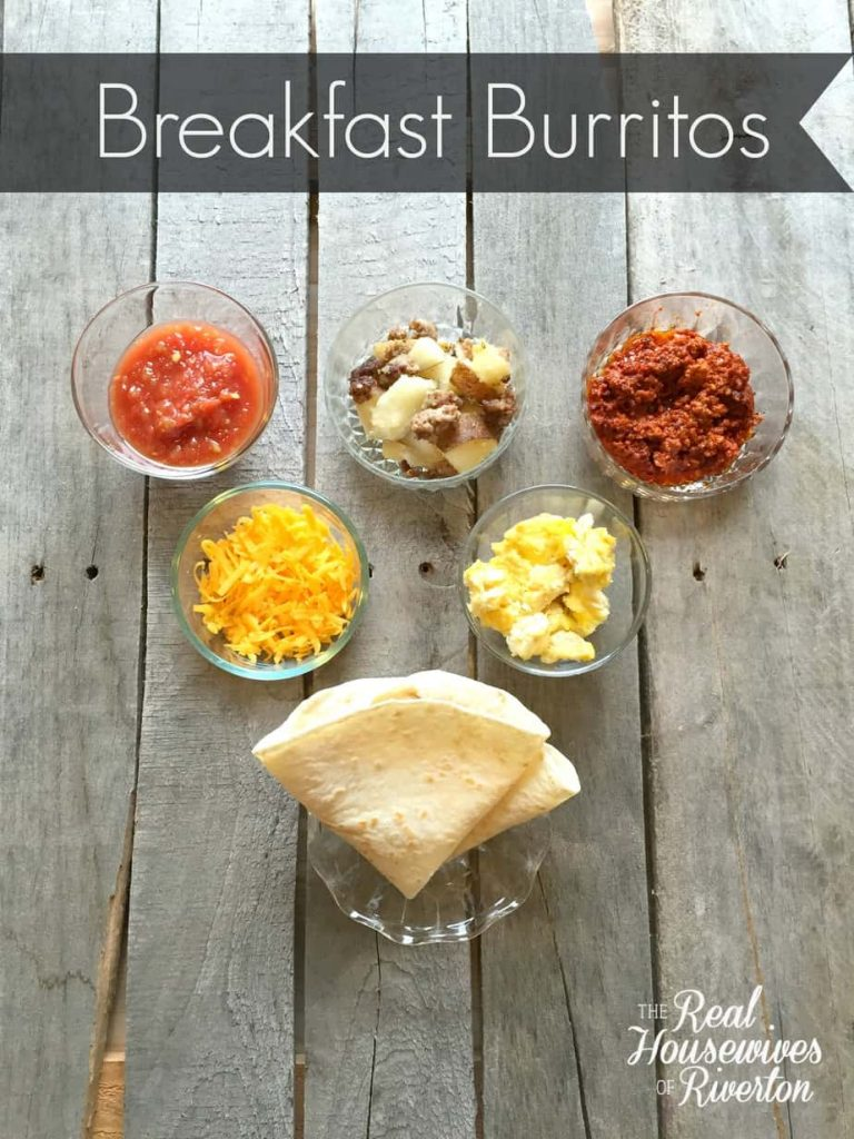 Breakfast Burritos - housewivesofriverton.com