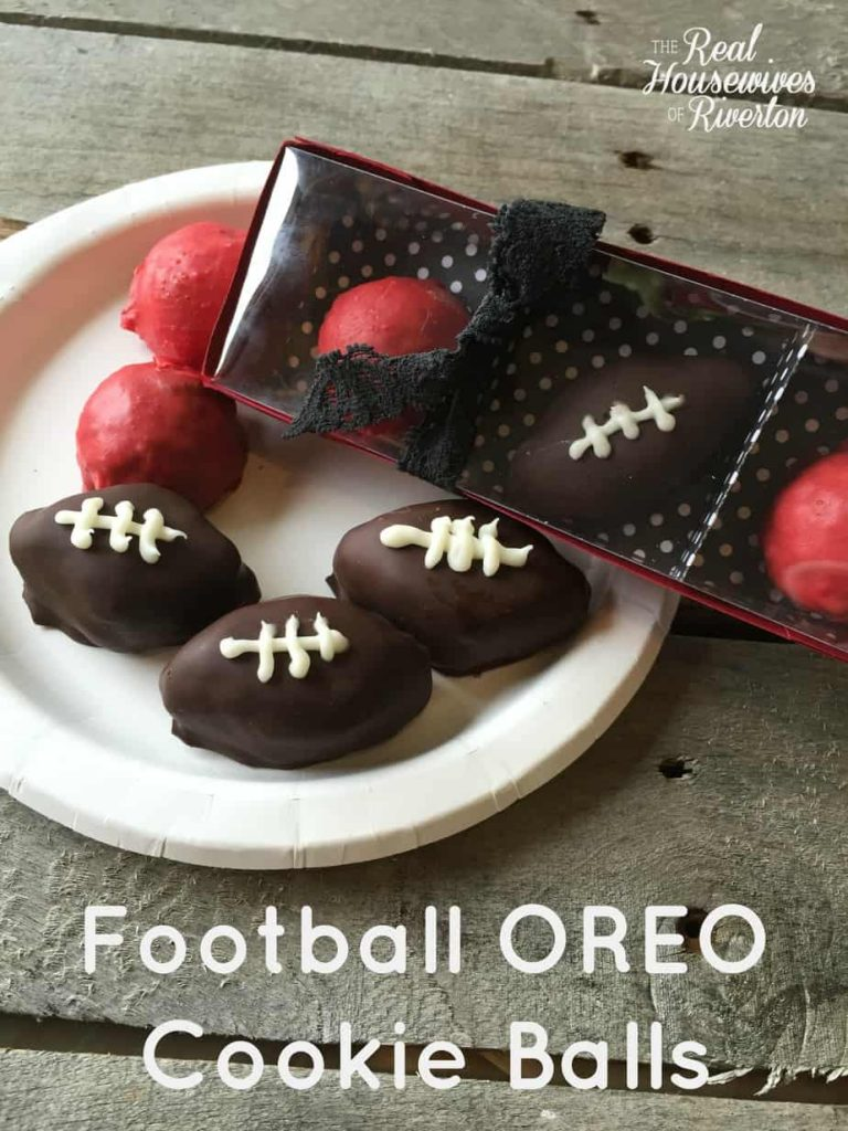 Football OREO Cookie Balls