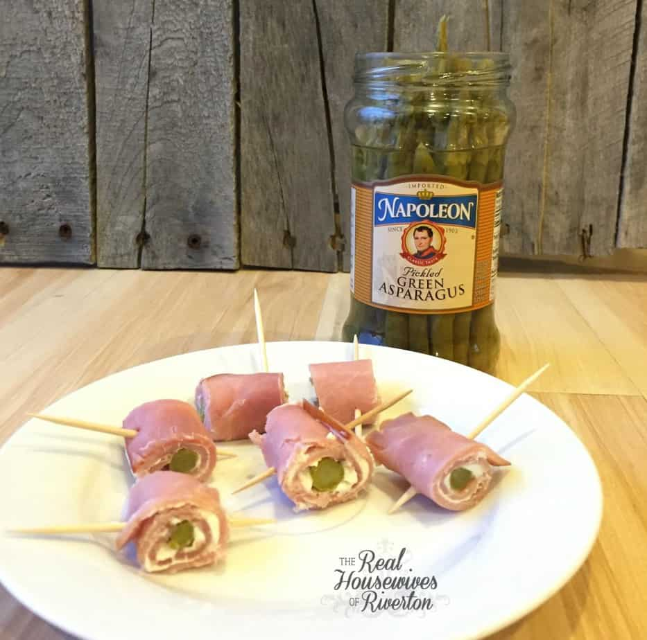 Ham and Pickled Asparagus - housewivesofriverton.com