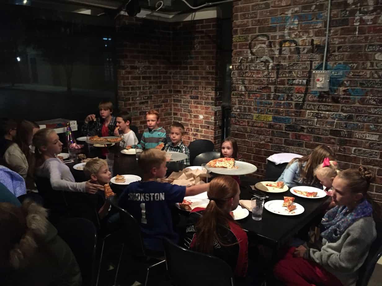 Pizza Birthday Tradition