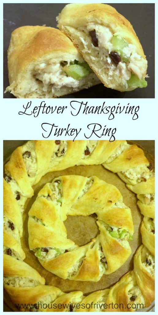 Leftover Thanksgiving Turkey Ring | www.housewivesofriverton.com