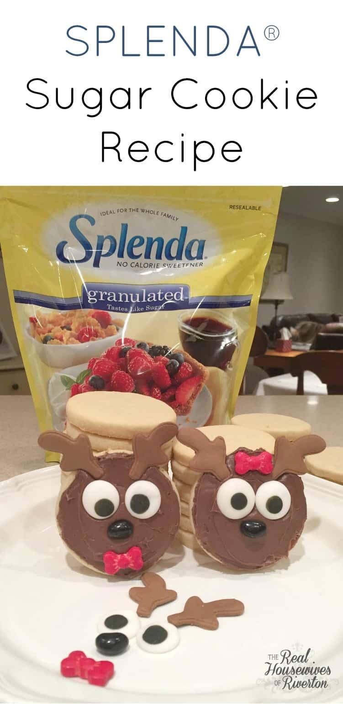 SPLENDA® Sugar Cookie Recipe