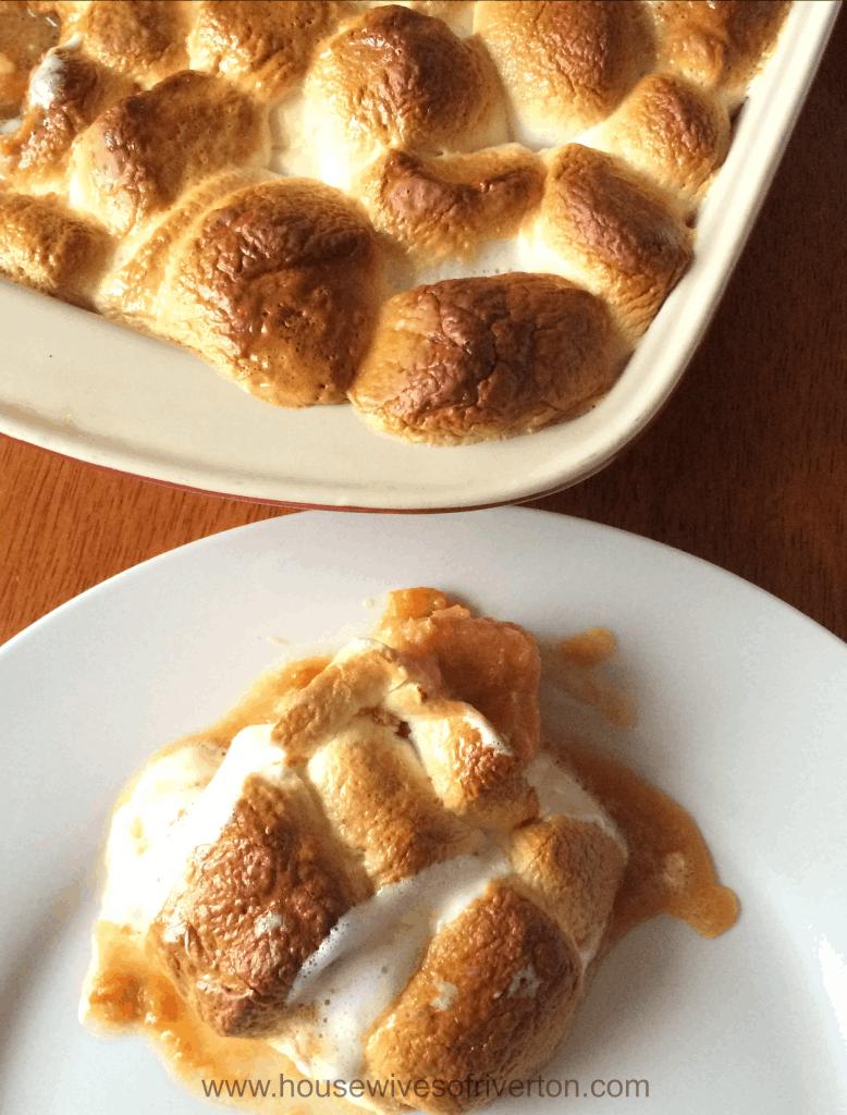 Sweet Potato Casserole | www.housewivesofriverton.com