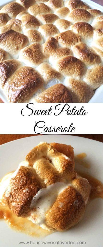 Sweet Potato Casserole   www.housewivesofriverton.com