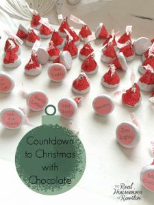 Countdown to Christmas with Chocolate - housewivesofriverton.com