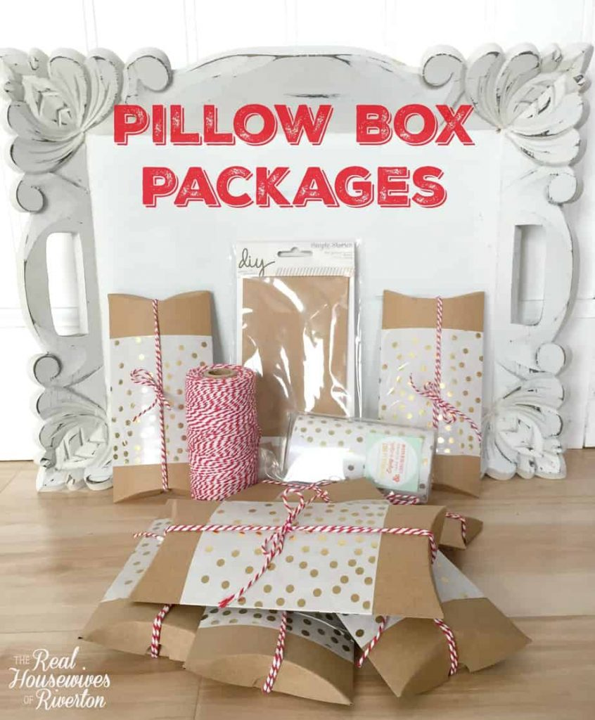 Pillow Box Packages