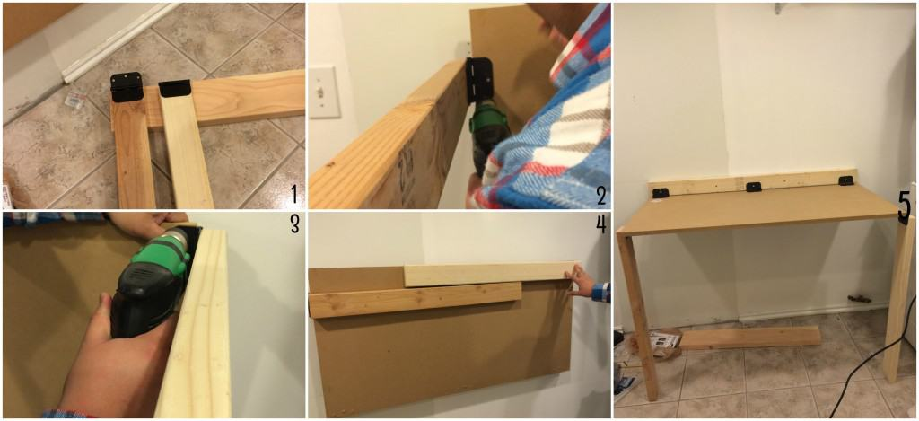 diy fold down laundry table - Laundry Folding Table
